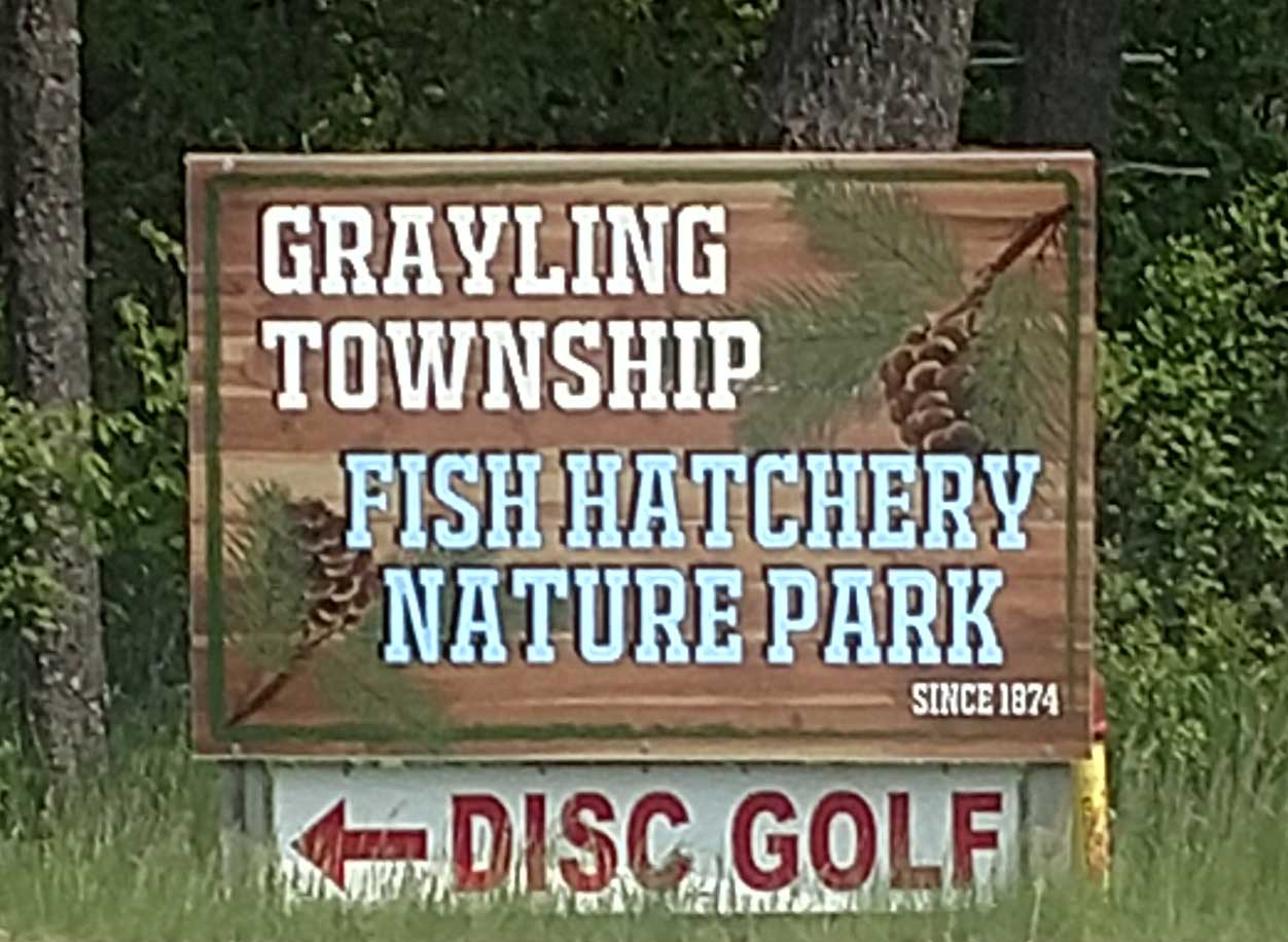 Grayling Township Park Sign
